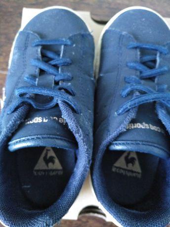 Sapatilhas  le coq sportif azuis