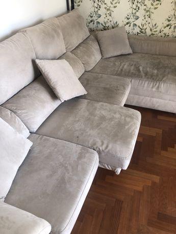 Sofa 3 lugares + chaise longue