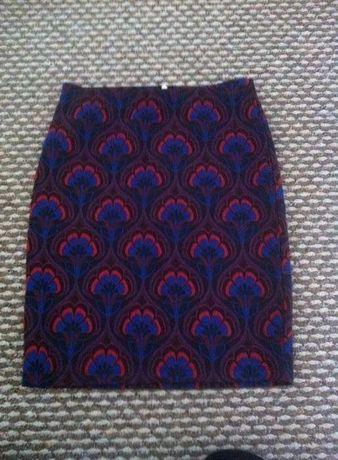 spodnica wzory przed kolano, ONLY,r36, nowa