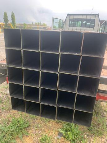 Profil stalowy 100x100x2 słupy, konstrukcje