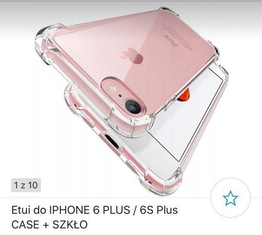 Etui, case iPhone 6 Plus + szkło hartowane