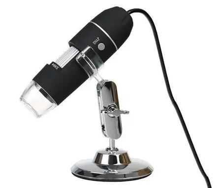 Микроскоп USB MicroView 500X цифровой, электронный на ножке, спеццена
