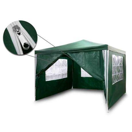 Pawilon ogrodowy altana namiot  zielony 3x3m zielony