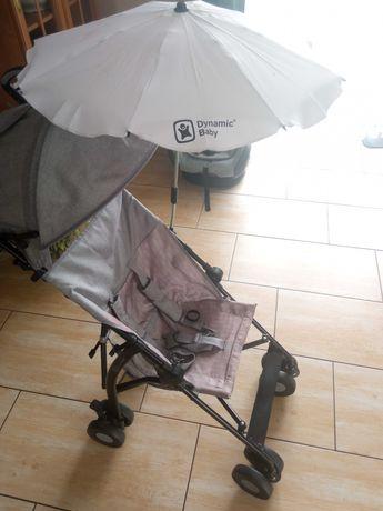 Wózek Spacerówka Kinderkraft + Parasolka przeciwsłoneczna