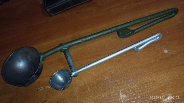 Ковш (ложка) для плавки свинца, модельного воска. 2 шт.