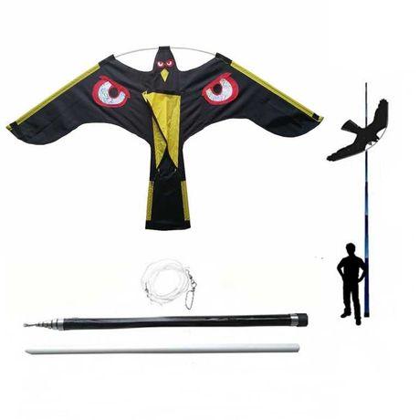 Odstraszacz ptaków latawiec CH1  - Maszt 4 metry - Palik