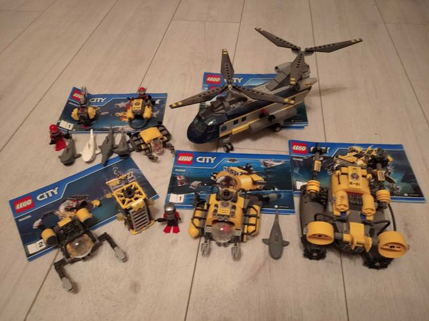 Lego 60092, 60093, 60095