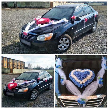 НОВЫЕ Украшение на свадебную машину,Сердце на свадьбу,прикраси на авто