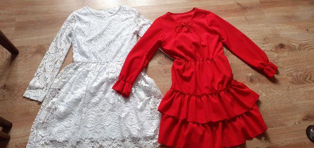 Sukienki na rozmiar 152