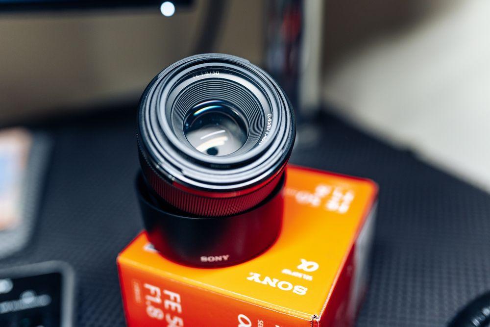 Объектив Sony fe 50mm f1.8 full frame Кременчуг - изображение 1