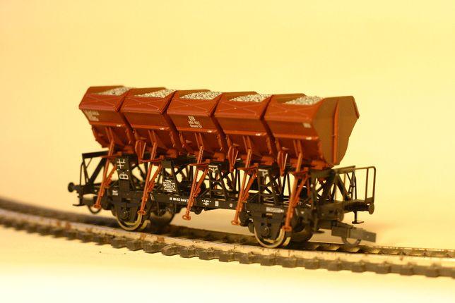 Железная дорога,вагон Roco Хоппер, хопер совместим с Piko масштаб 1:87