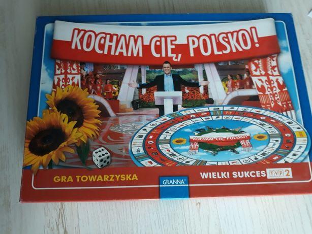 Kocham cię Polsko gra planszowa