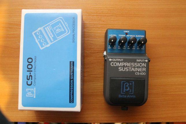 Гитарный компрессор Beta Aivin CS-100
