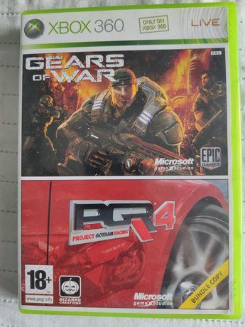 Project Gotham Racing 4  PGR4 oraz Gears of war Xbox x360