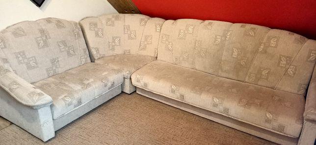 Narożnik do salonu rozkładany, 2 fotele, kanapa, łóżko, wersalka