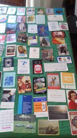Colecçao + 400 calendarios anos + 80s e - 70s - 10E..