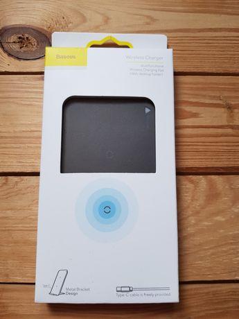 Nowa ładowarka indukcyjna bezprzewodowa mocna Baseus+gratis