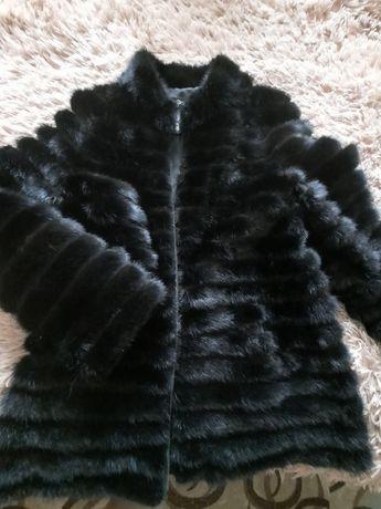 Замшева норкова куртка шубка 46 48