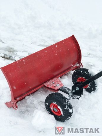 Лопата для чистки снега на колесах. Акция. Бесплатная доставка