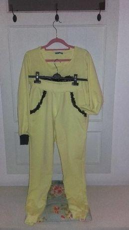 Cytrynowy dres/ piżama