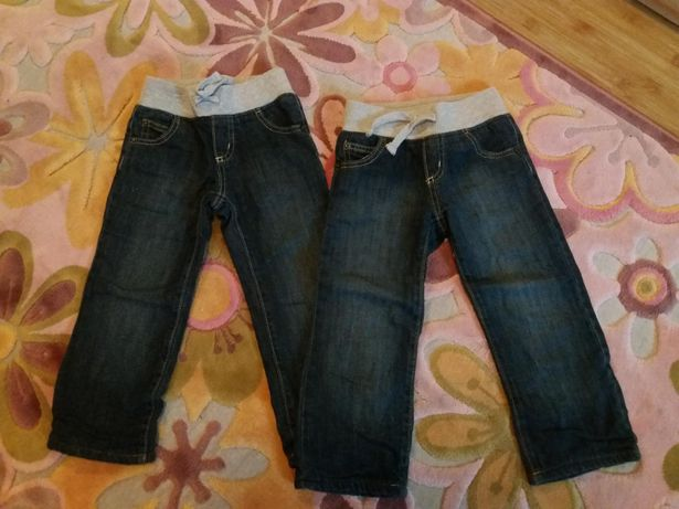 Теплі джинси для близнюків 2-3 роки