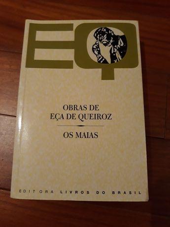 Livro Os Maias de Eça de Queiroz