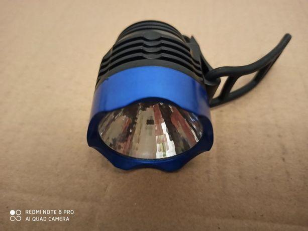 Lampa LED rowerowa