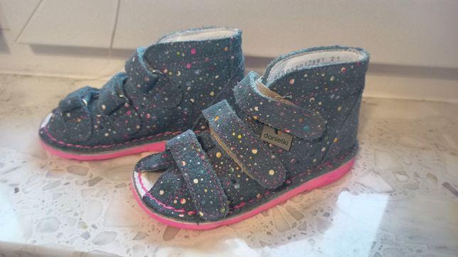 Buciki Danielki sandały