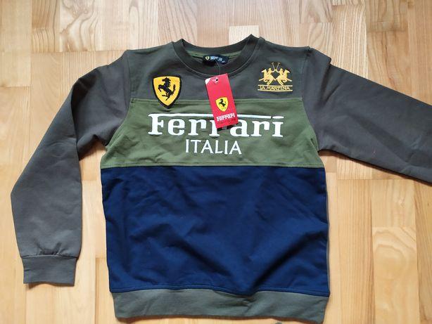Nowy nienoszny dres Ferrari z metką 122
