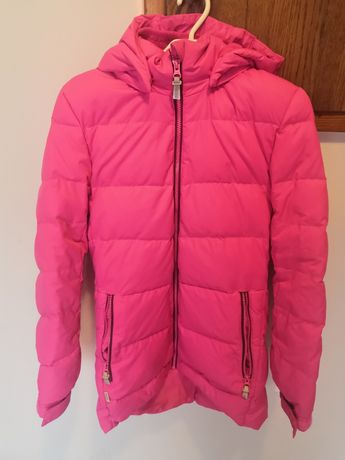 Kurtka puchowa zimowa różowa płaszcz REIMA rozm. 164