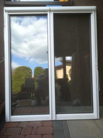 Okno witryana z demontażu