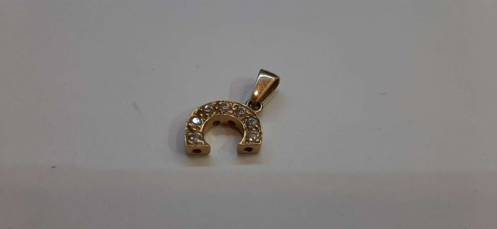 Złoty wisiorek 14k/585/ 1,42 g --- Lombard Gorlice ---