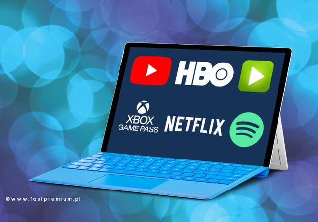 Netflix | HBO | IPLA TV| Spotify | ELEVEN Sports | TIDAL -> AUTOMAT