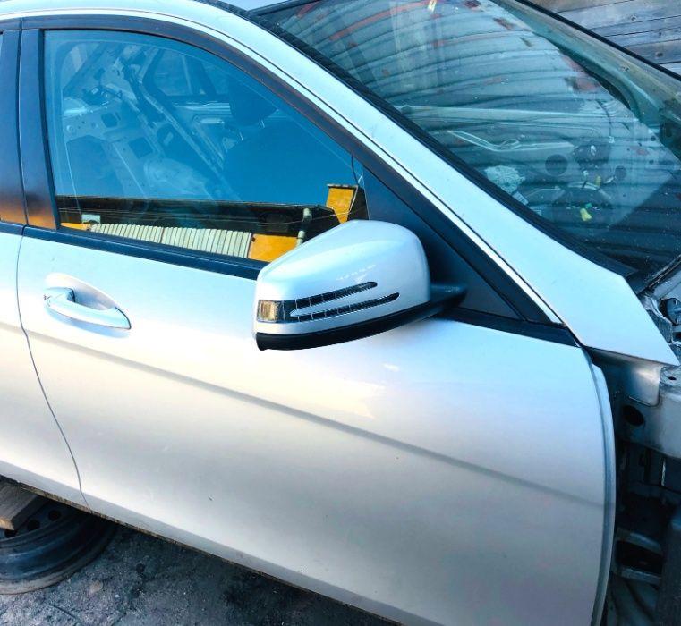 Drzwi prawe przód pasażera kompletne kolor 775 Mercedes W204 Wrocław - image 1