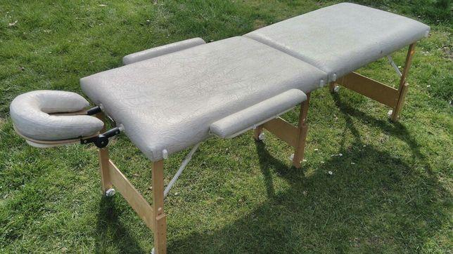 Łóżko składane do masażu