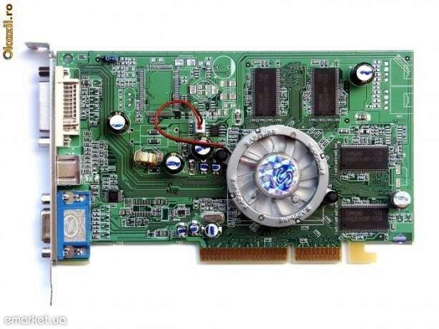 Radeon 9550, 128mb/64bit AGP