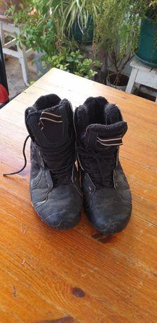 Botas neve pretas usadas Quéchua