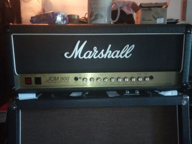 Marshall jcm900 head 50w dual reverb UK