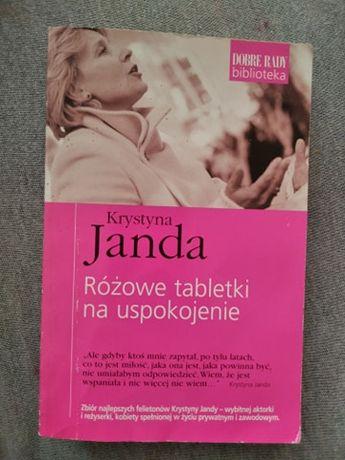 """""""Różowe tabletki na uspokojenie"""" Krystyna Janda"""