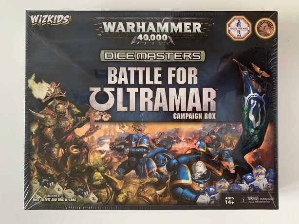Warhammer 40,000 Dice Masters: Battle for Ultramar Campaign - w folii