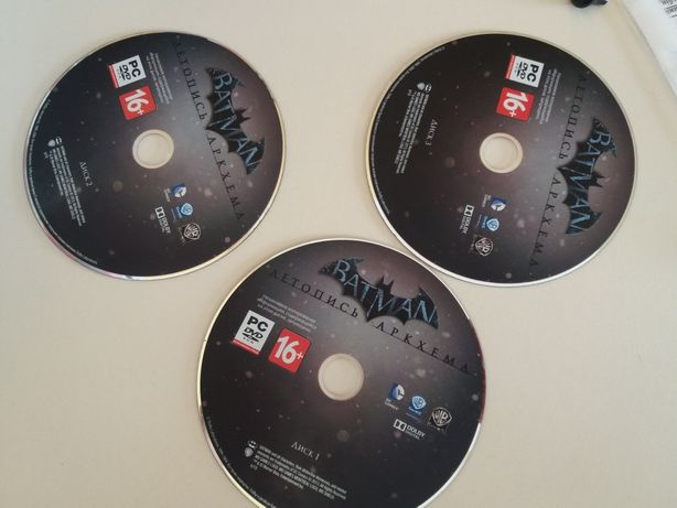 диск с игрой на ПК Бэтмэн