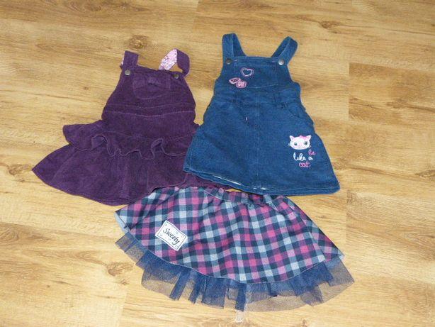 Sukienki Dziewcynka Cool Club 98/104 Komplet JNowe