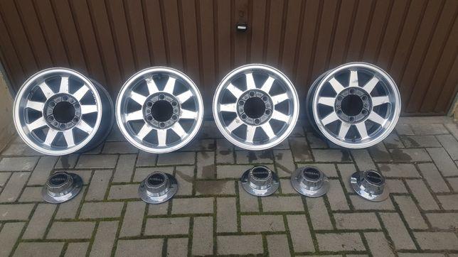 """Alufelgi15"""" Nissan PATROL, TERANO 3 plus 1 Gratis!!!"""