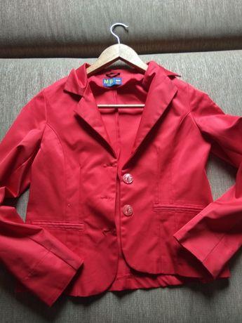 Жакет червоного кольору