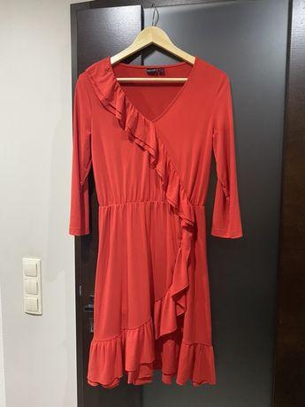 Sukienka czerwona hiszpanka 36/38 S/M Bonprix Bodyflirt