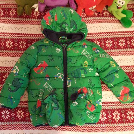 Теплая комфортная деми курточка