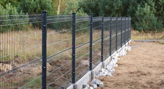 Usługi Montaż ogrodzeń / Demontaż ogrodzeń - prace budowlane