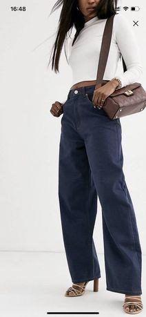 """Новые джинсы high rise """"relaxed """" dad jeans asos design 32/3"""