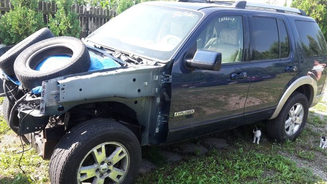 Drzwi Lewy Przód Kompletne Ford Explorer 2006-10