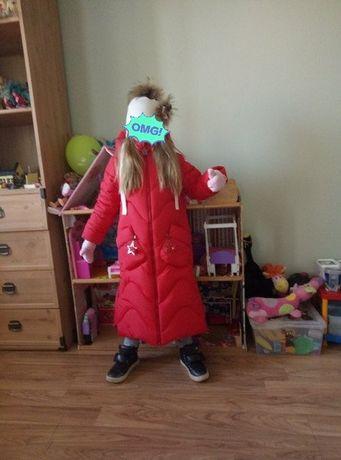 Зимнее пальто на девочку ТМ barbaris